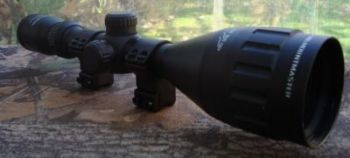 "Nikko Stirling Mountmaster 3-9x50 AO Half Mil Dot Rifle Scope with 9-11mm / 3/8"" Mount Rings"